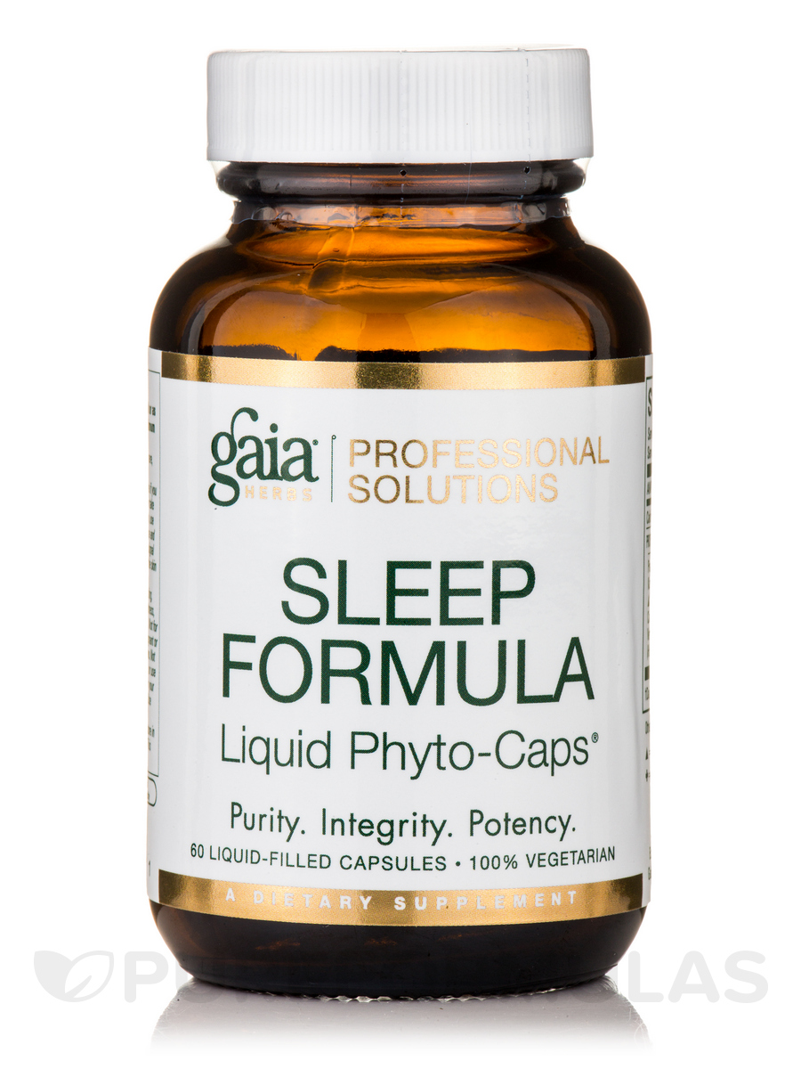 Sleep Formula - 60 Vegetarian Liquid-Filled Capsules