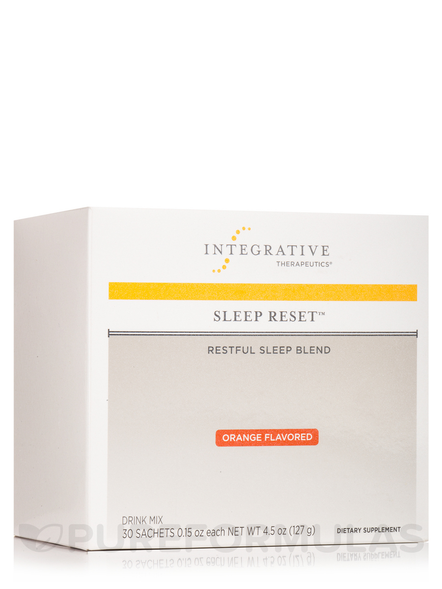 Sleep Reset™, Orange Flavor - Box of 30 Sachets