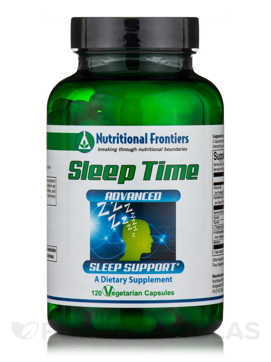 Sleep Time - 120 Vegetarian Capsules