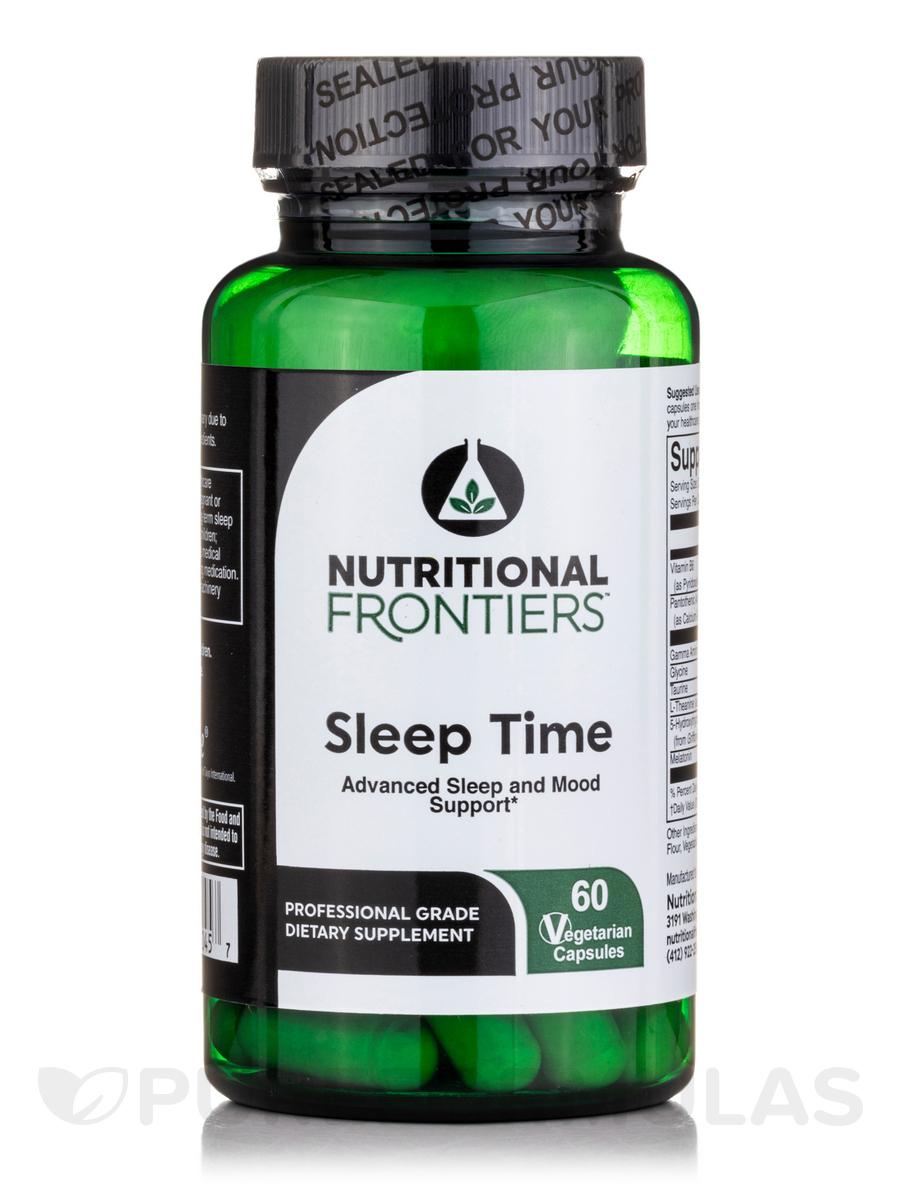 Sleep Time - 60 Vegetarian Capsules