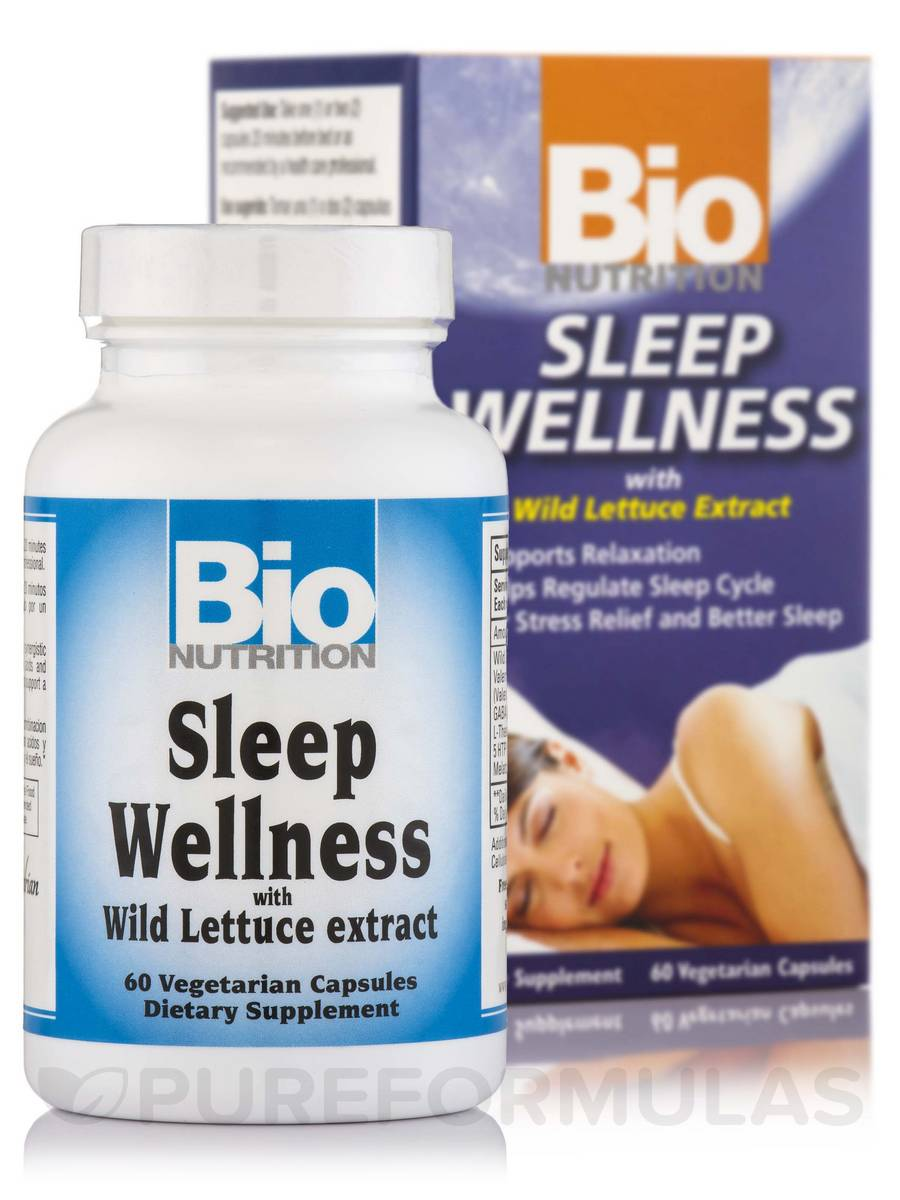 Sleep Wellness with Wild Lettuce - 60 Capsules