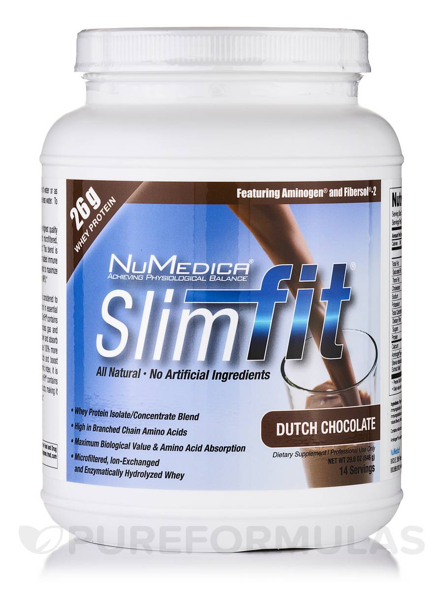SlimFit (Dutch Chocolate) - 14 Servings (29.8 oz / 846 Grams)