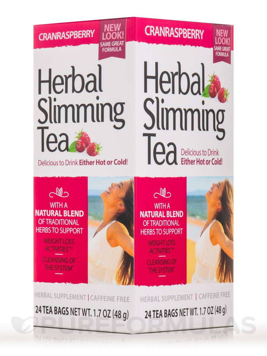 Slimming Tea Cranraspberry - 24 Tea Bags