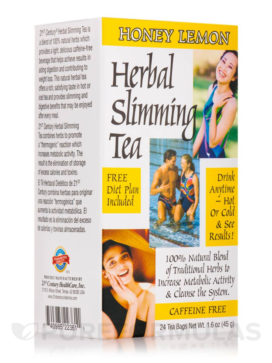 Slimming Tea Honey Lemon - 24 Tea Bags