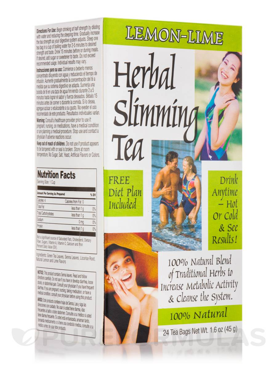 Slimming Tea Lemon Lime - 24 Tea Bags