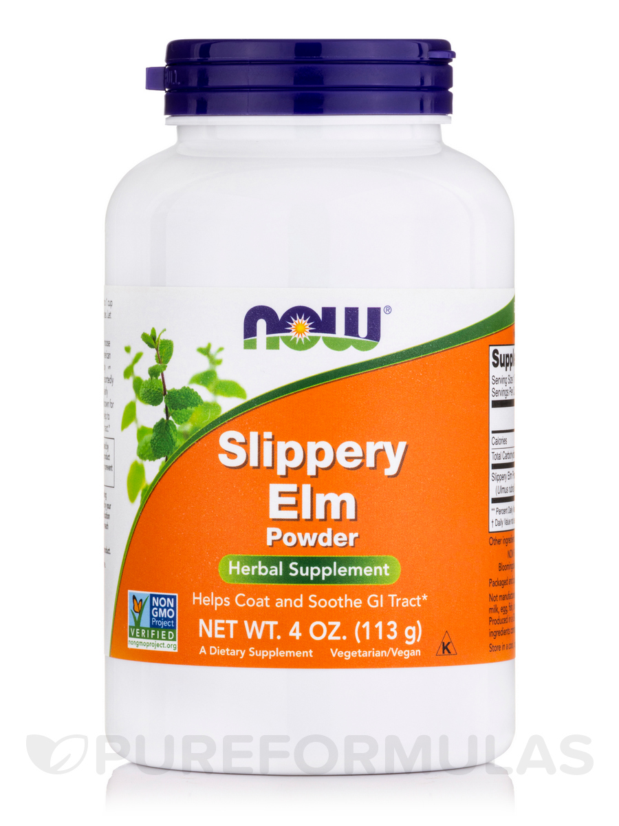 Slippery Elm Powder - 4 oz (113 Grams)