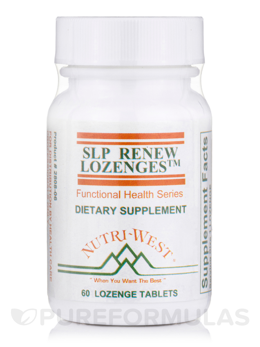 SLP Renew - 60 Lozenge Tablets