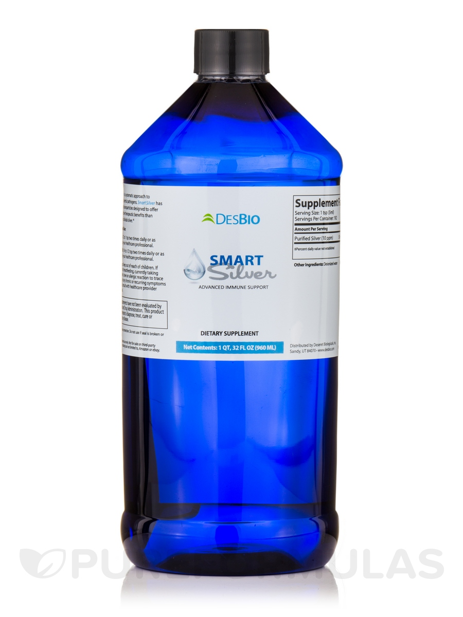 Smart Silver - 32 fl. oz (946 ml)