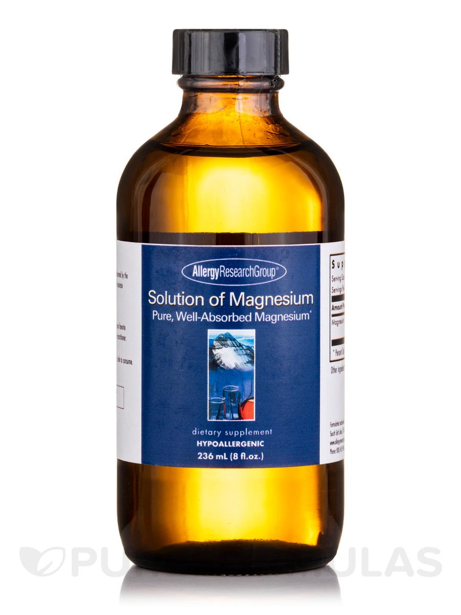 Solution of Magnesium Liquid - 8 fl. oz (236 ml)