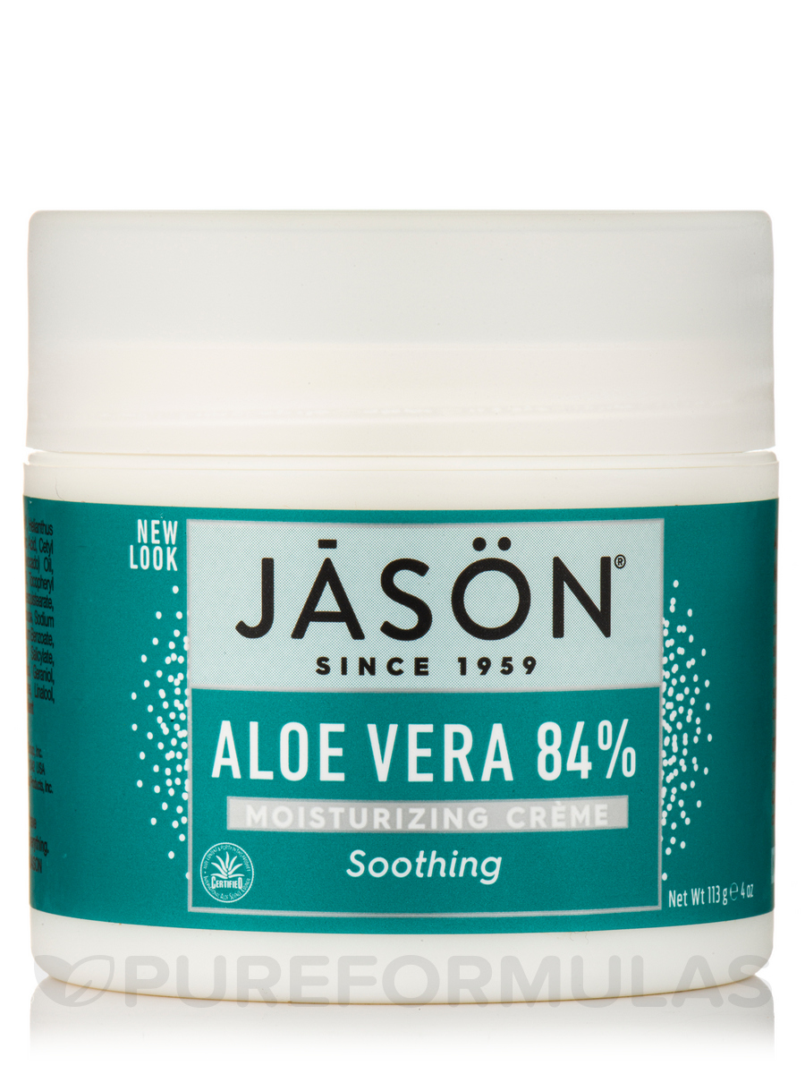 Soothing 84% Aloe Vera Cream - 4 oz (113 Grams)