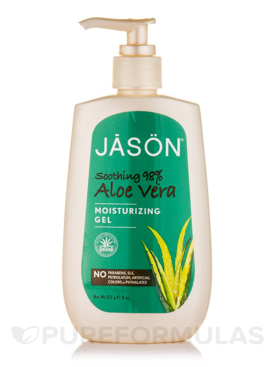 Soothing 98% Aloe Vera Gel with Pump - 8 oz (227 Grams)