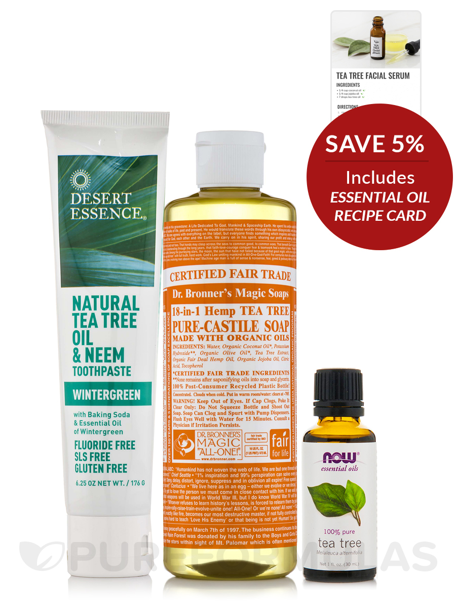 Soothing Tea Tree Bath & Body Collection - Save 5% on a bundle