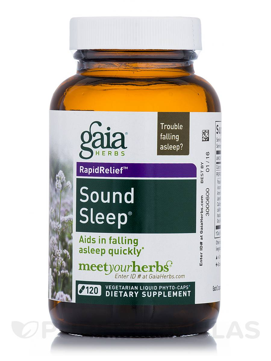 Sound Sleep - 120 Vegetarian Liquid Phyto-Caps