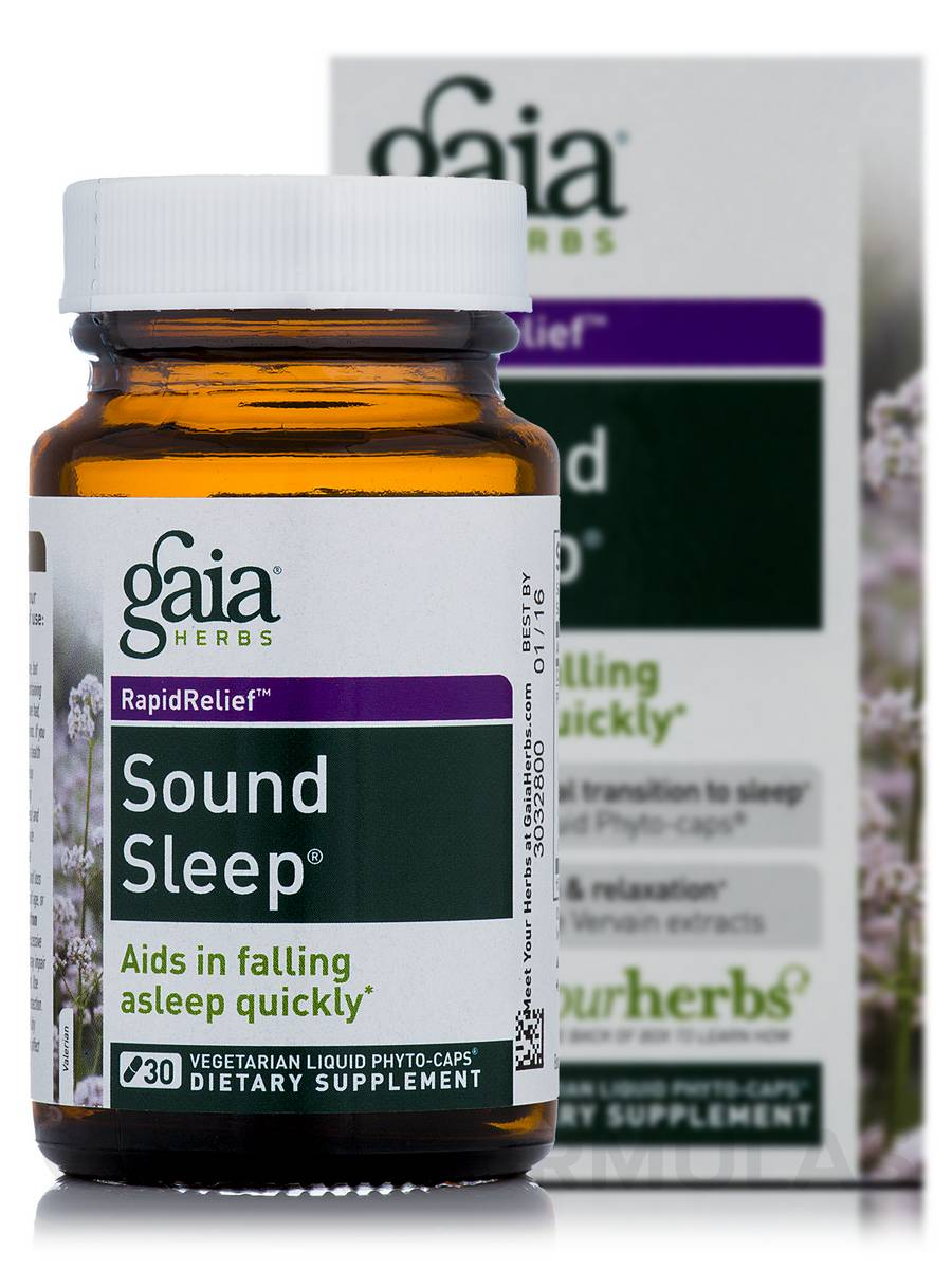 Sound Sleep - 30 Vegetarian Liquid Phyto-Caps