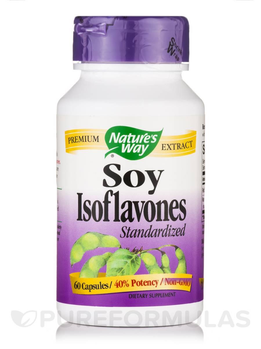 Soy Isoflavone - 60 Capsules