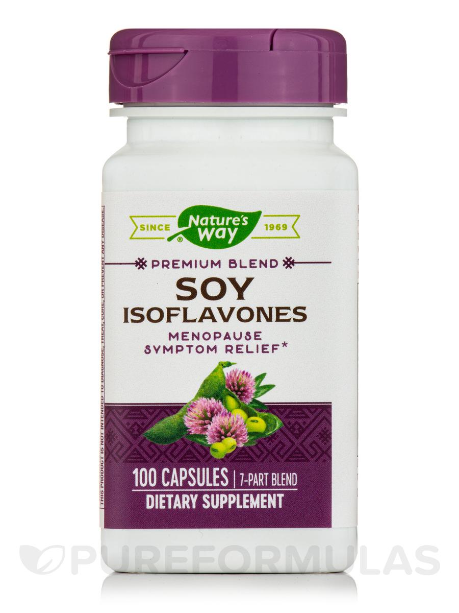 Soy Isoflavones - 100 Capsules