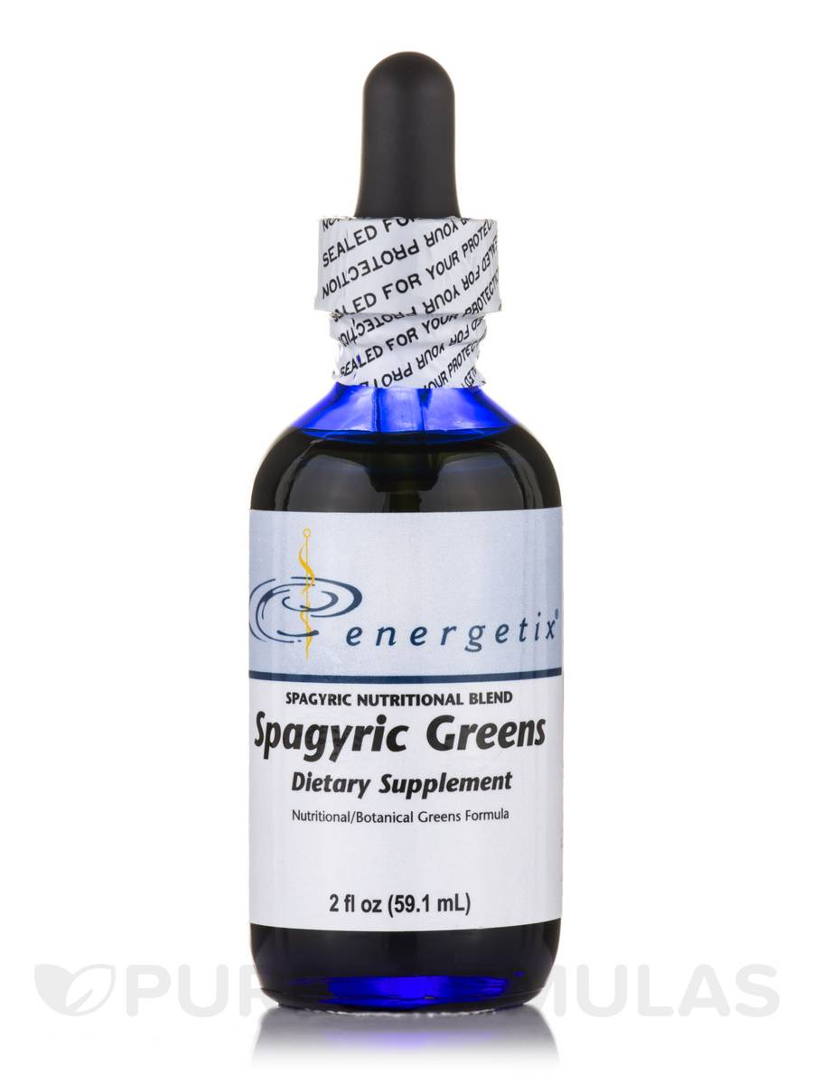 Spagyric Greens - 2 fl. oz (59.1 ml)
