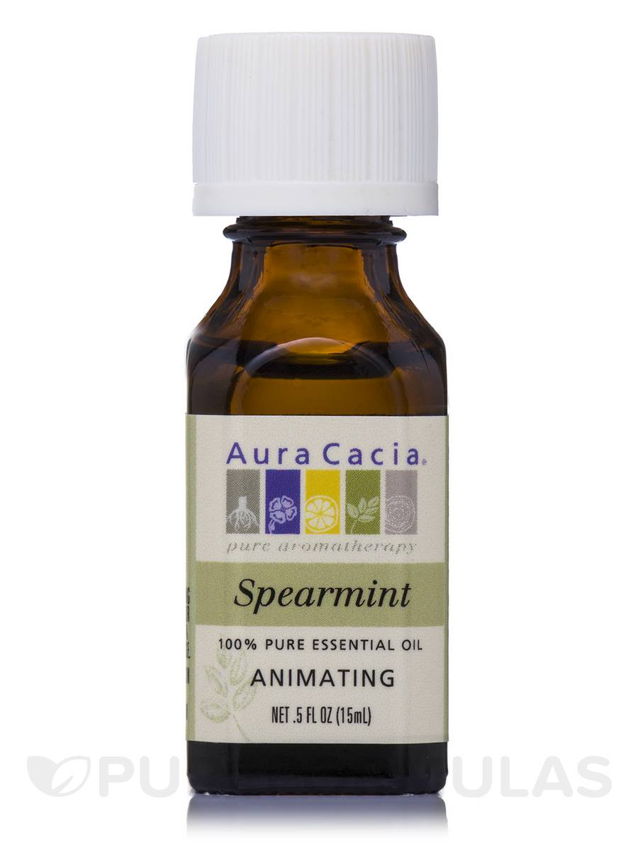 Spearmint Essential Oil (mentha spicata) - 0.5 fl. oz (15 ml)