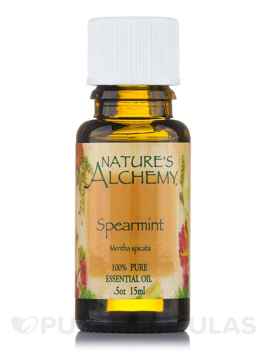 Spearmint Pure Essential Oil - 0.5 oz (15 ml)