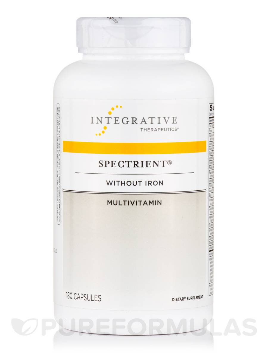 Spectrient® Multivitamin (Iron-Free) - 180 Capsules