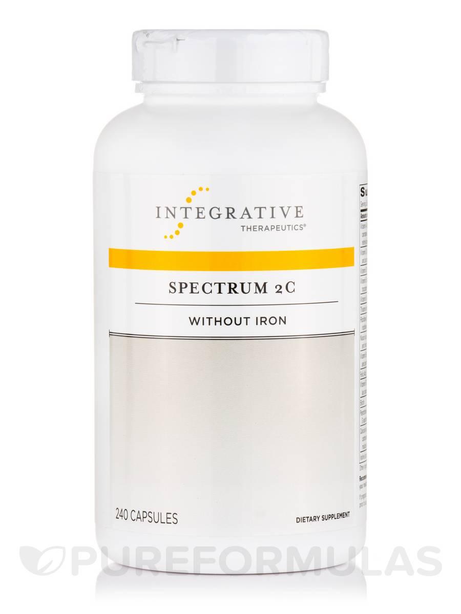 Spectrum 2C (Iron-Free) - 240 Capsules