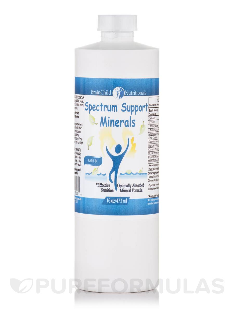 Spectrum Support Minerals - 16 oz (473 ml)