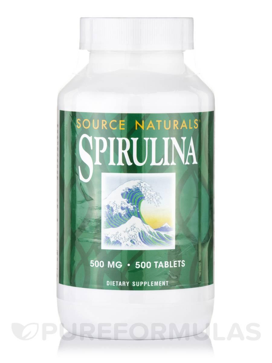 Spirulina 500 mg - 500 Tablets