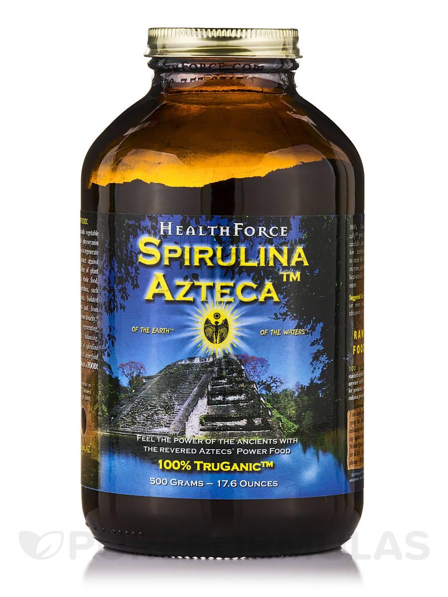 Spirulina Azteca™ Powder - 17.6 oz (500 Grams)