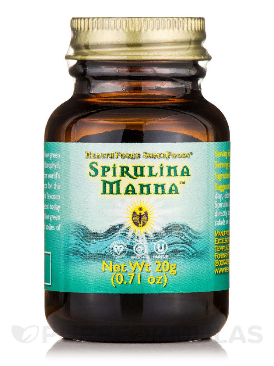 Spirulina Manna™ Powder - 0.71 oz (20 Grams)