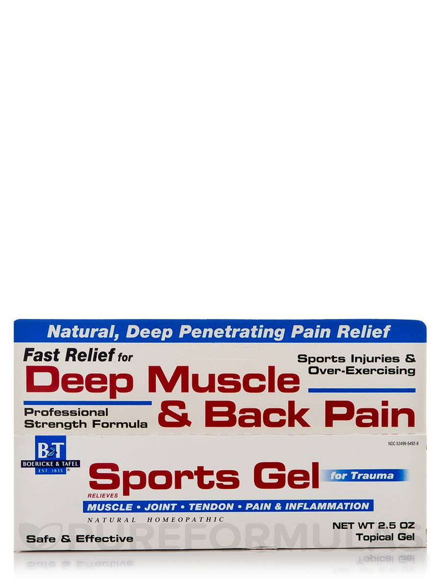 Sports Gel - 2.5 oz