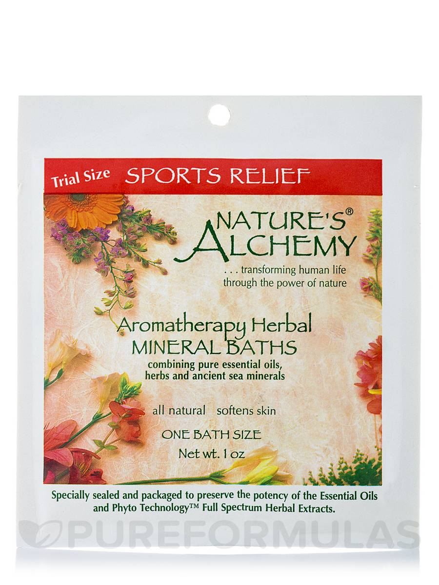Sports Relief Aromatherapy Mineral Baths - 1 oz