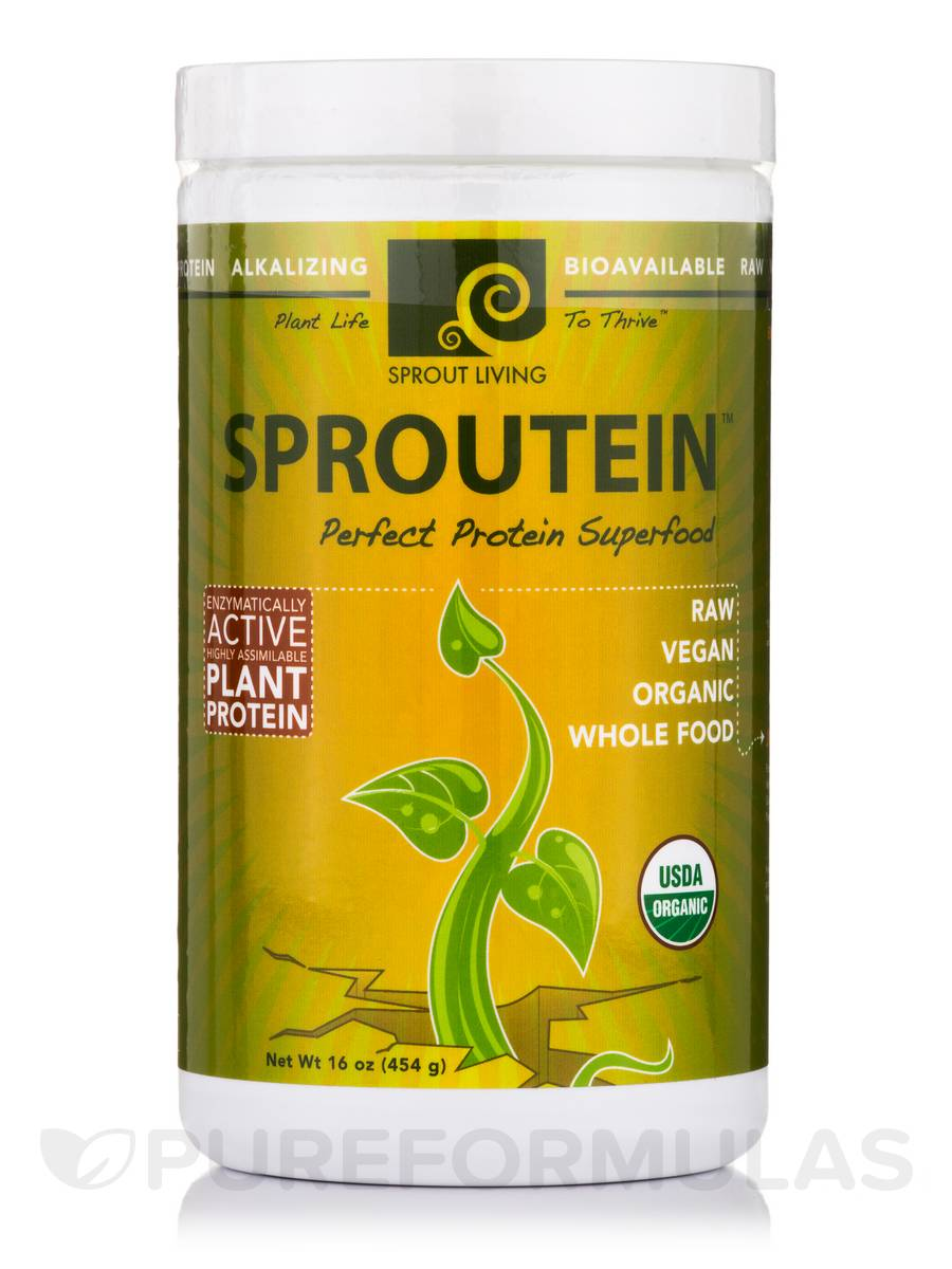 Sproutein: Protein Superfood - 16 oz (454 Grams)