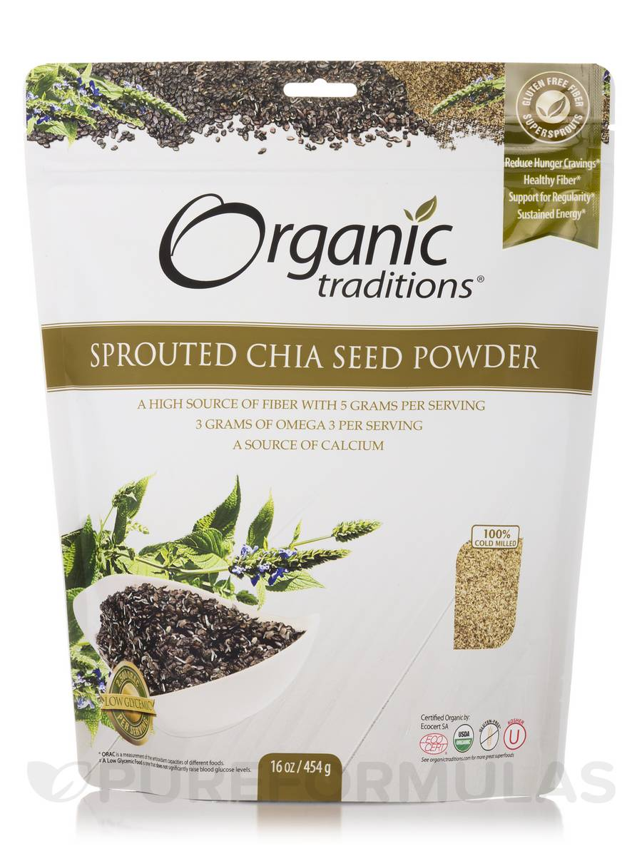 Sprouted Chia - 16 oz (454 Grams)