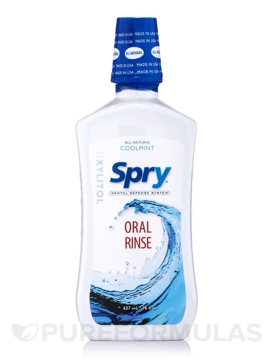 Spry® Oral Rinse Coolmint - 16 fl. oz (437 ml)