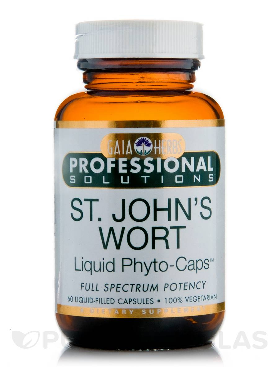 St. John's Wort - 60 Vegetarian Liquid-Filled Capsules