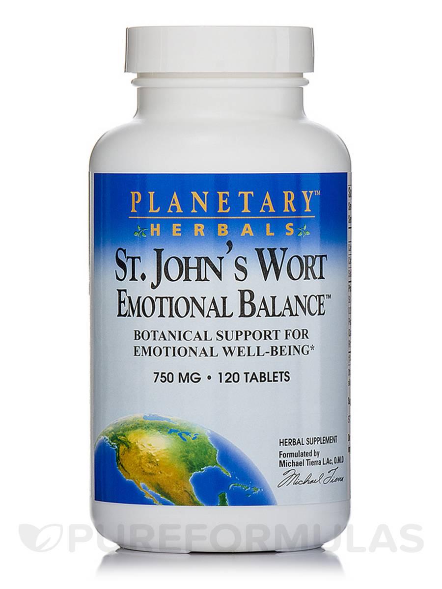 St. John's Wort Emotional Balance 750 mg - 120 Tablets