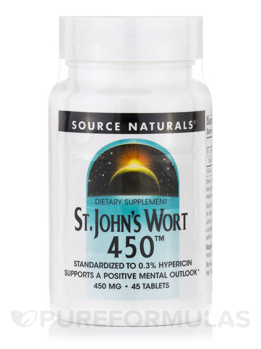 St. John's Wort Extract 450 mg - 45 Tablets