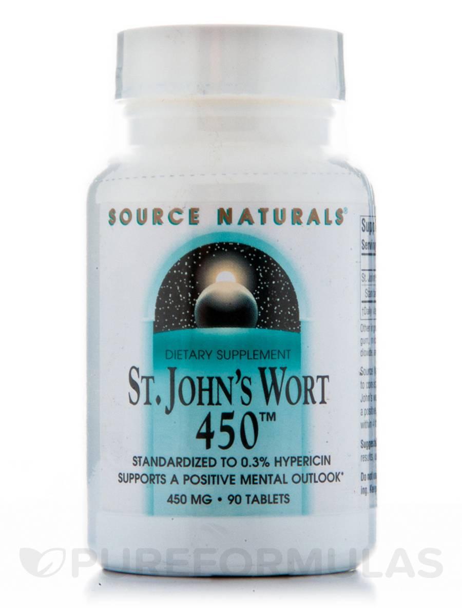 St. John's Wort Extract 450 mg - 90 Tablets