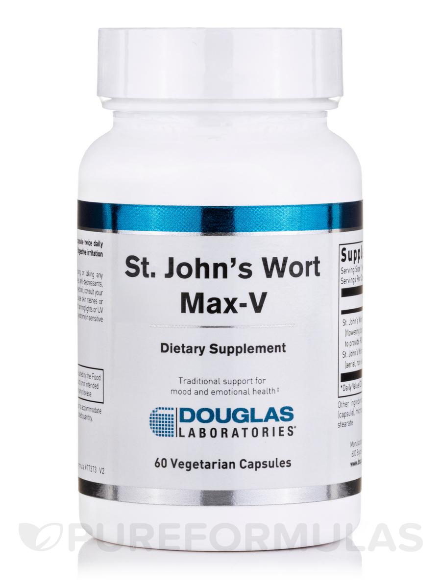 St. John's Wort Max-V - 60 Vegetarian Capsules