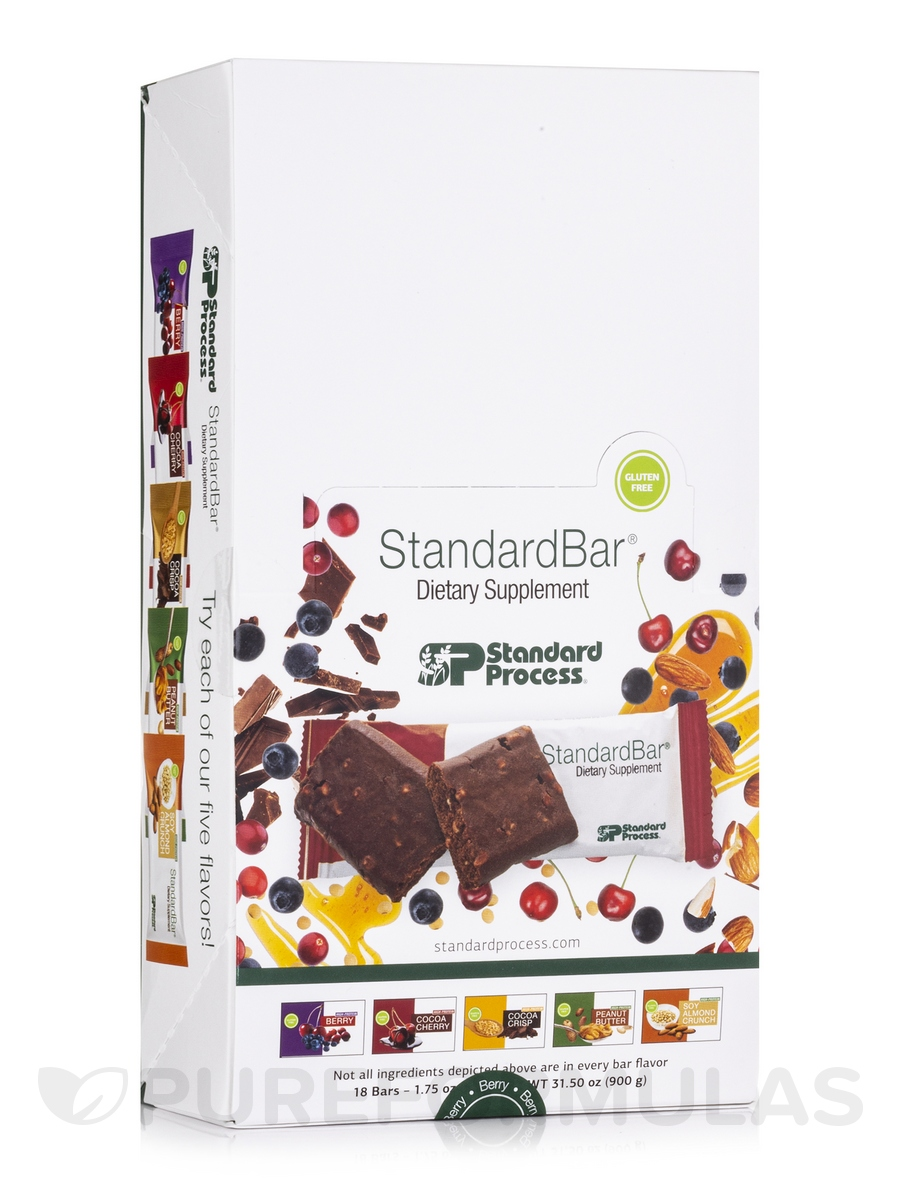StandardBar® Berry - Box of 18 Bars