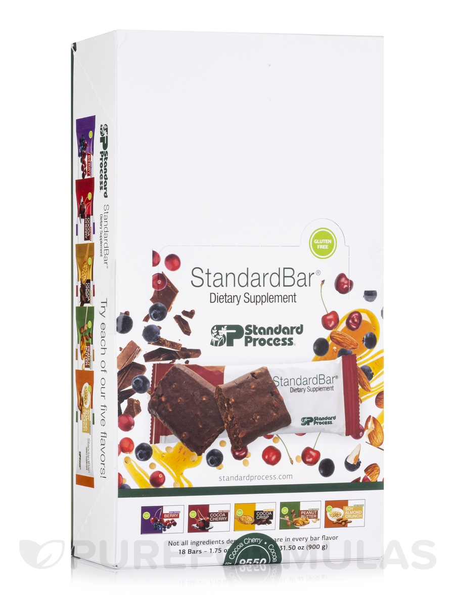 StandardBar® High Protein Cocoa Cherry - Box of 18 Bars