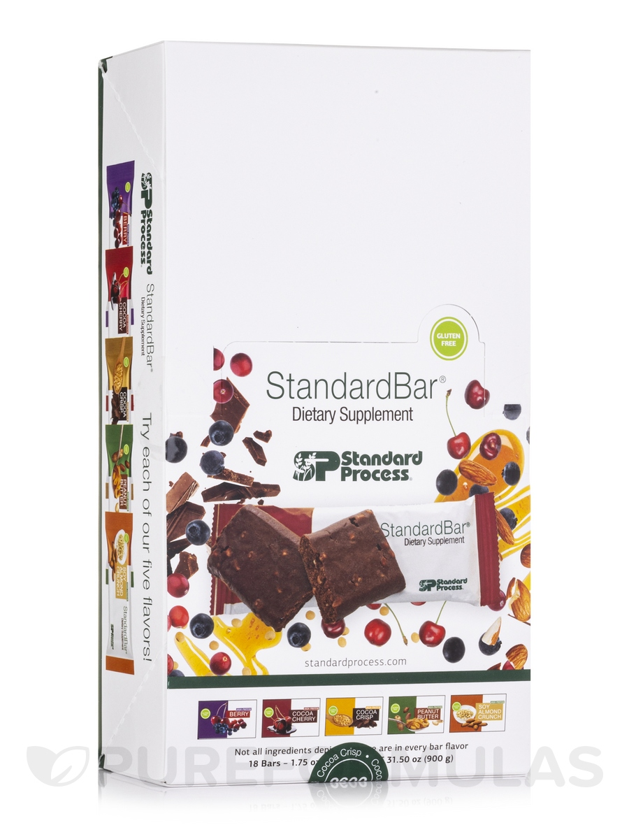 StandardBar® High Protein Cocoa Crisp - Box of 18 Bars