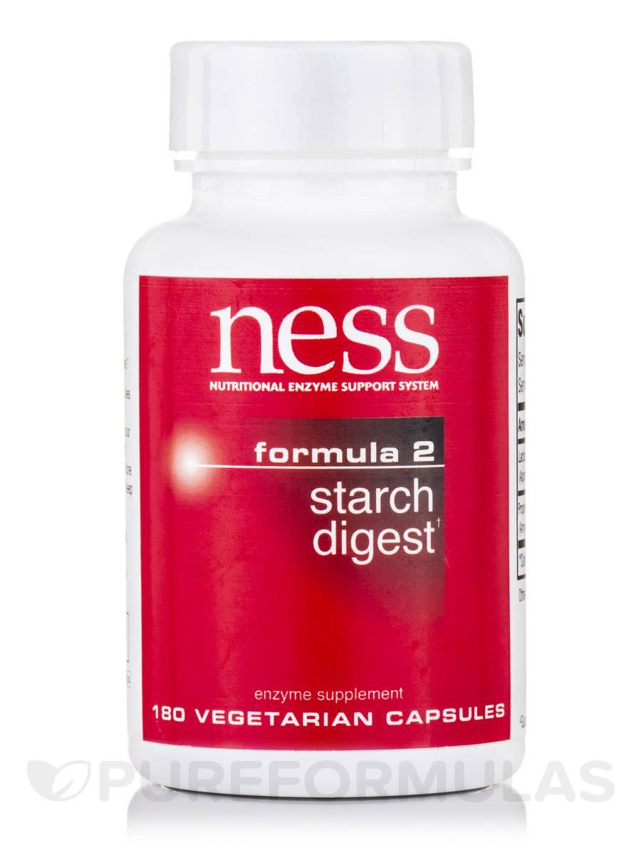 Starch Digest (Formula 2) - 180 Vegetarian Capsules