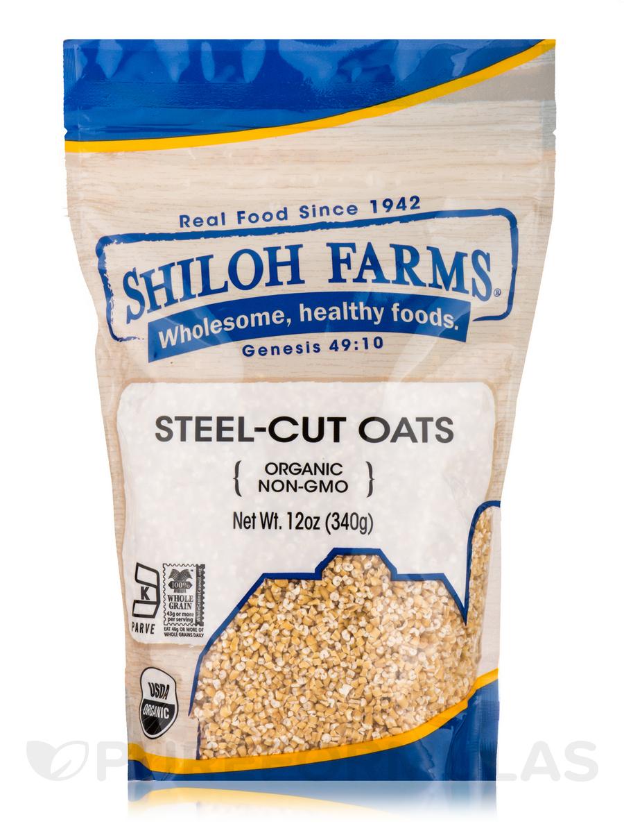 Steel-Cut Oats, Organic - 12 oz (340 Grams)