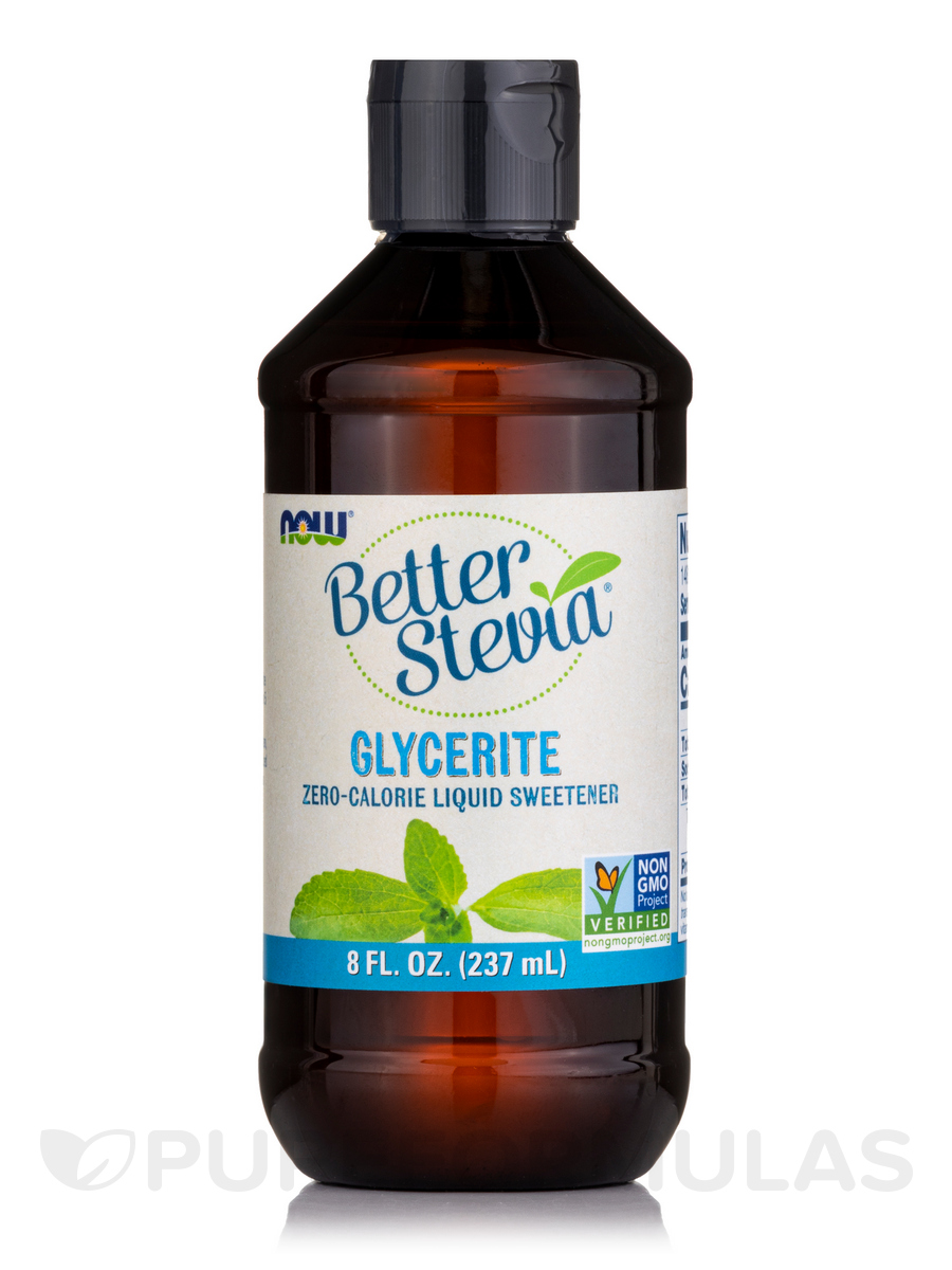 Better Stevia Liquid Sweetener, Glycerite - 8 fl. oz (237 ml)