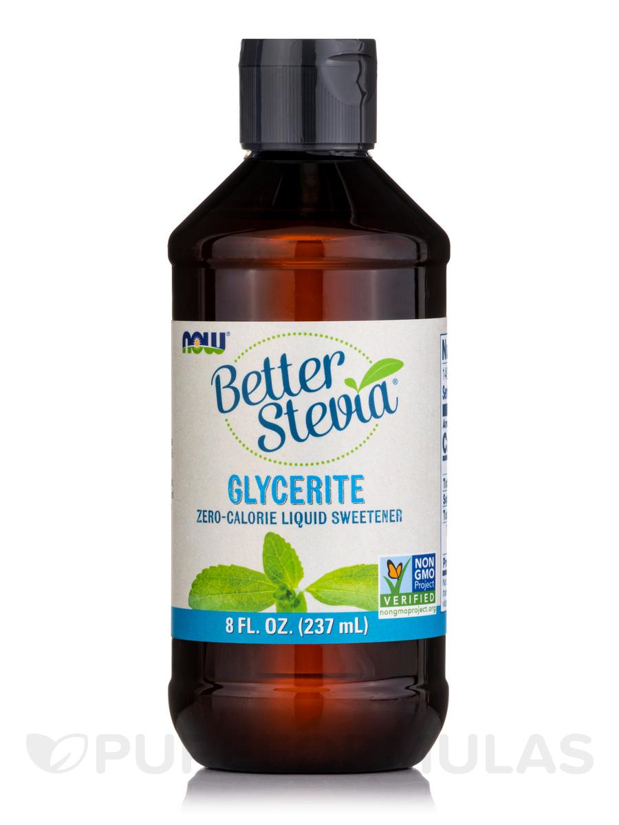 Better Stevia Liquid Sweetener, Glycerite - 8 fl. oz (237 ml)