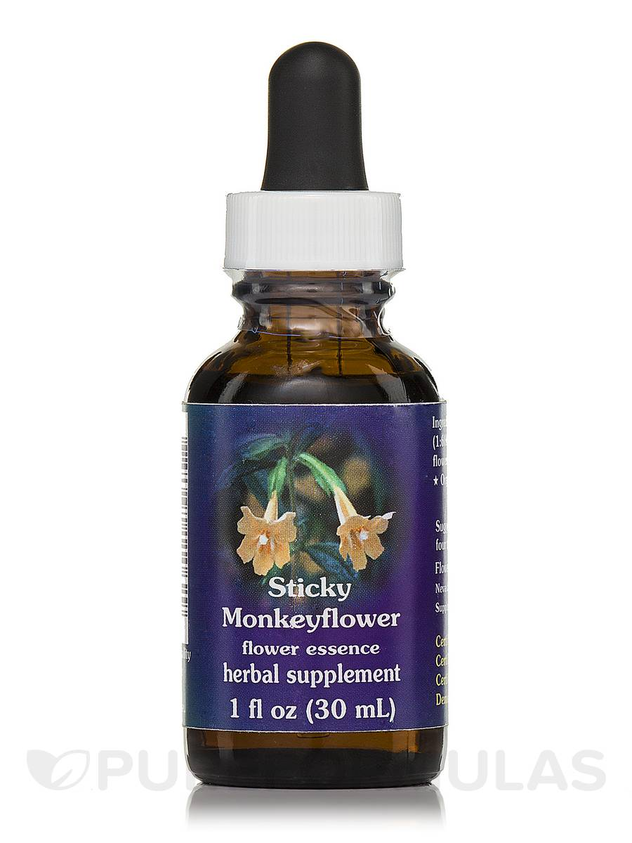 Sticky Monkeyflower Dropper - 1 fl. oz (30 ml)