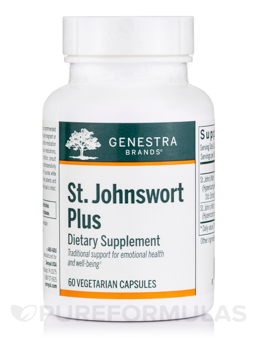 St.Johnswort Plus - 60 Vegetable Capsules