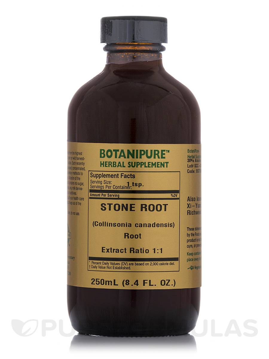 Stone Root (Collinsonia canadensis) - 8.4 fl. oz (250 ml)