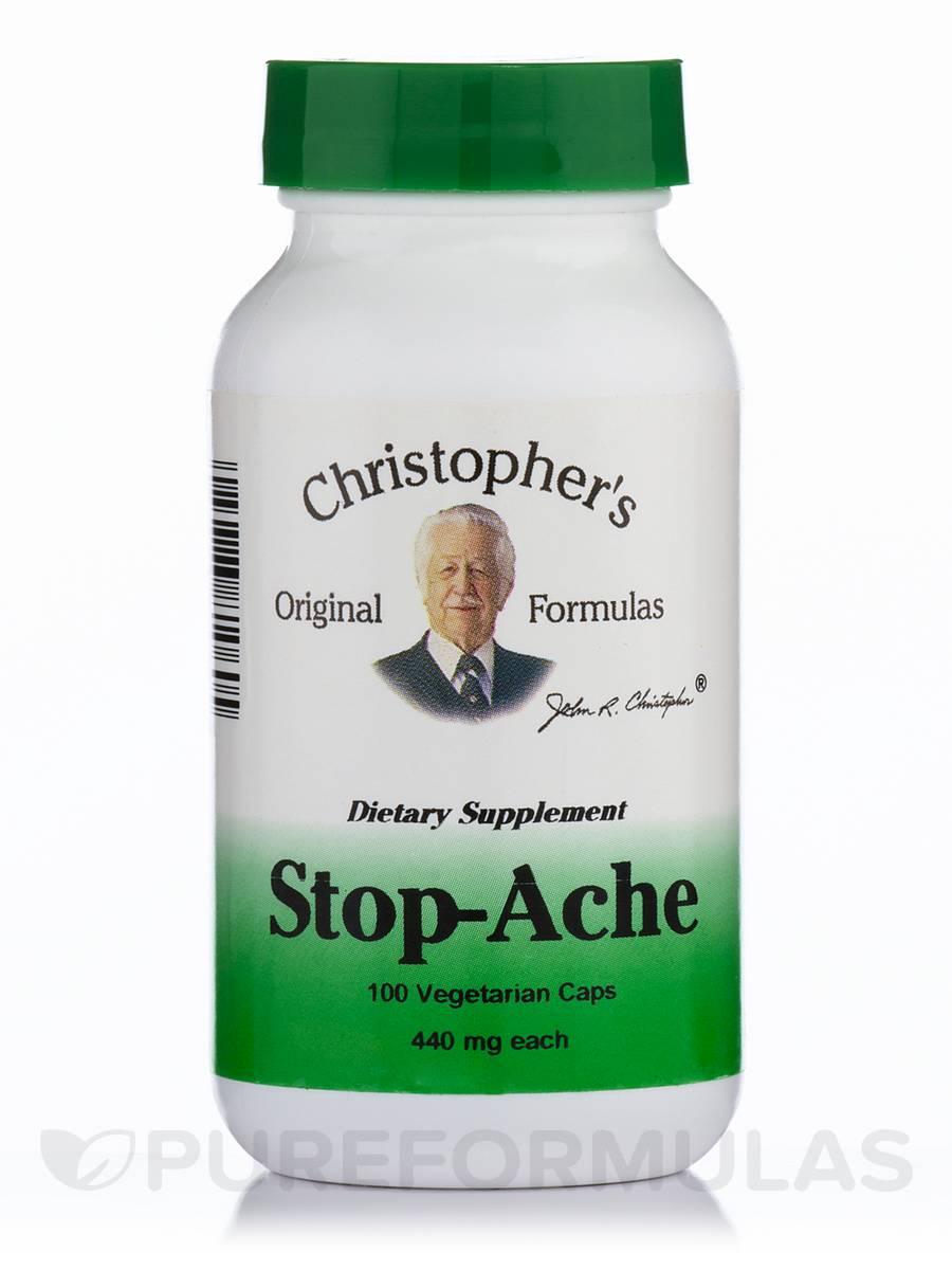 Stop-Ache - 100 Vegetarian Capsules